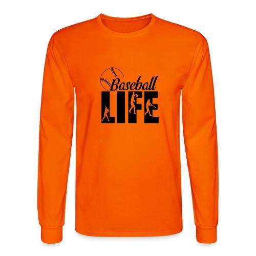 Baseball life - Men's Long Sleeve T-Shirt
