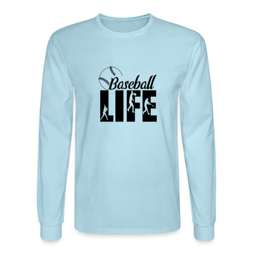 Baseball life - Men's Long Sleeve T-Shirt