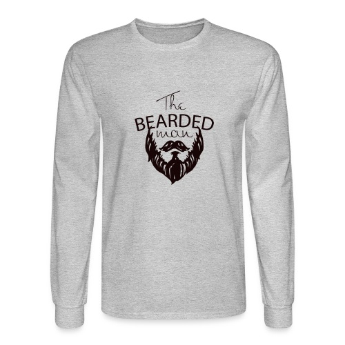 The bearded man - Men's Long Sleeve T-Shirt