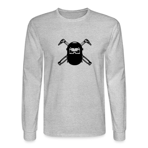 Welder Skull - Men's Long Sleeve T-Shirt