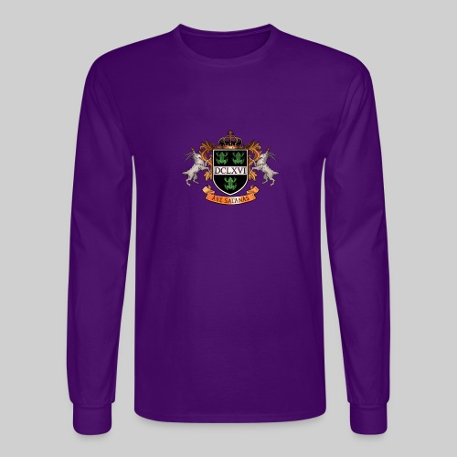 Satanic Heraldry - Coat of Arms - Men's Long Sleeve T-Shirt