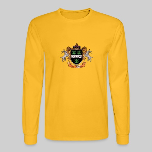 Satanic Heraldry - Coat of Arms - Men's Long Sleeve T-Shirt