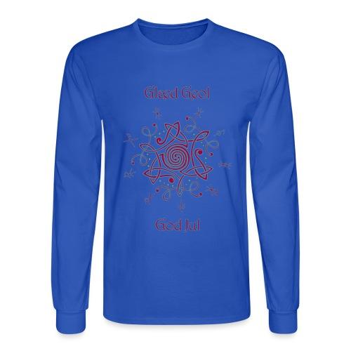 Happy Yule - Men's Long Sleeve T-Shirt