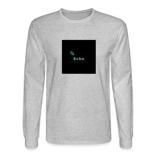 Echo Clan Offical Logo Merch - Men's Long Sleeve T-Shirt