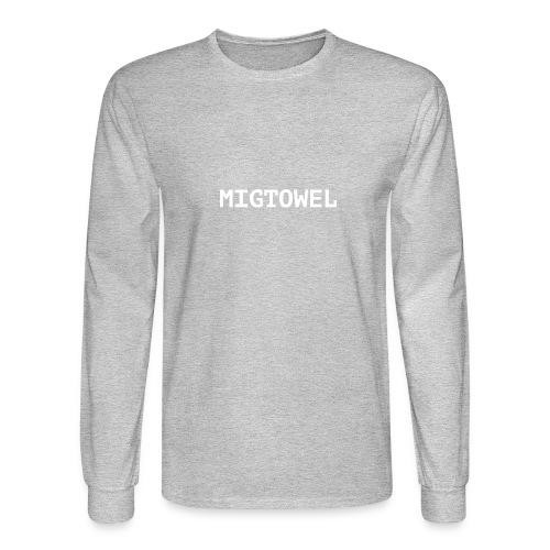 Mig Towel, Brother! Mig Towel! - Men's Long Sleeve T-Shirt
