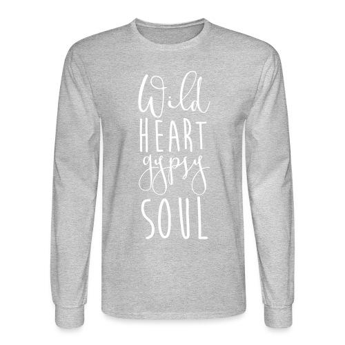 Cosmos 'Wild Heart Gypsy Sould' - Men's Long Sleeve T-Shirt