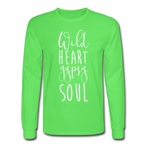 Cosmos 'Wild Heart Gypsy Sould' - Men's Long Sleeve T-Shirt