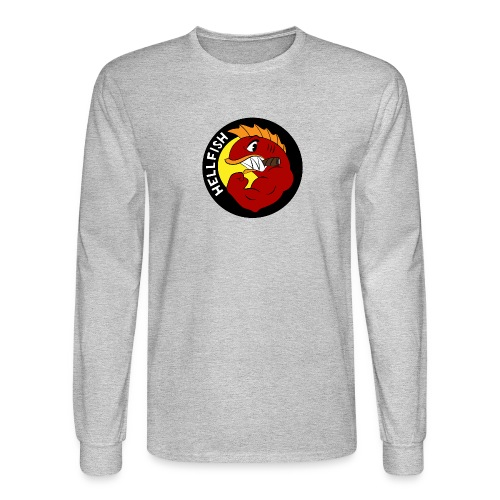 Hellfish - Flying Hellfish - Men's Long Sleeve T-Shirt
