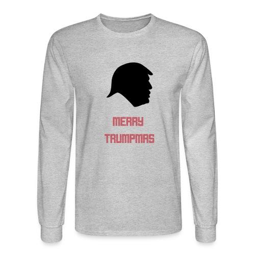 Merry Trumpmas Red - Men's Long Sleeve T-Shirt