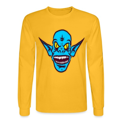 Alien Troll - Men's Long Sleeve T-Shirt