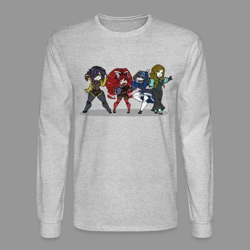 Chibi Autoscorers - Men's Long Sleeve T-Shirt
