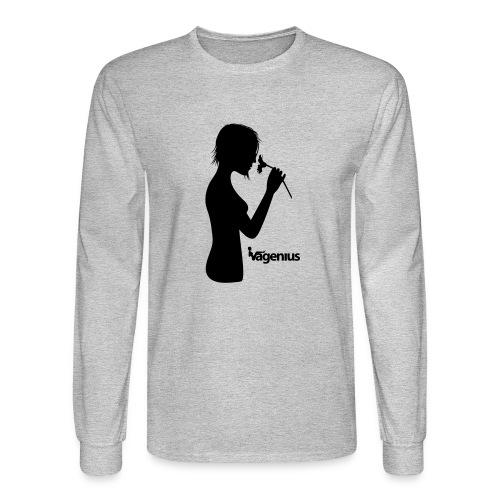 flower girl - Men's Long Sleeve T-Shirt