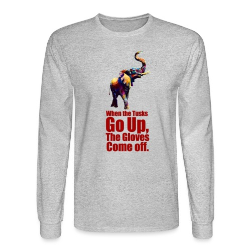 When the trunk goes up th - Men's Long Sleeve T-Shirt