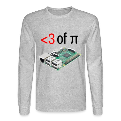 Life of Raspberry Pi 2 - Men's Long Sleeve T-Shirt