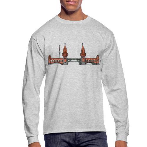 Oberbaum Bridge Berlin - Men's Long Sleeve T-Shirt