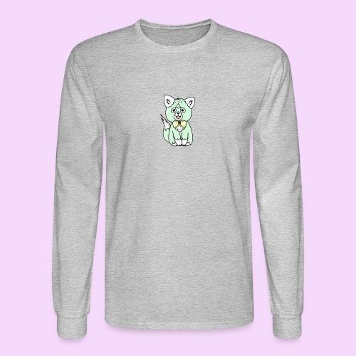Lolipup Pack: Minty Pup! - Men's Long Sleeve T-Shirt