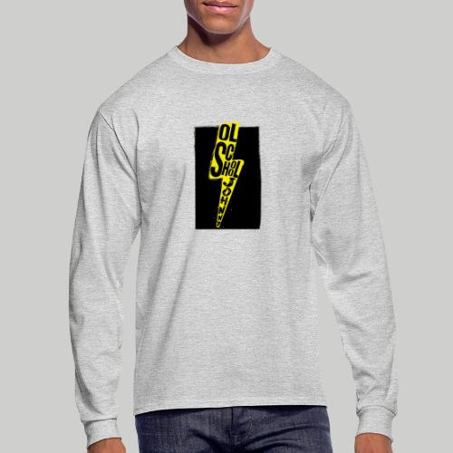 Ol' School Johnny Colour Lightning - Men's Long Sleeve T-Shirt