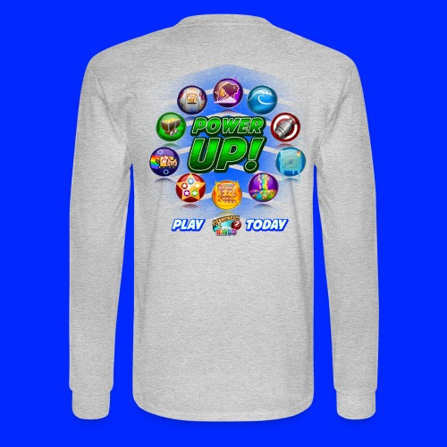 Vintage Cannonball Bingo Power-Up Tee - Men's Long Sleeve T-Shirt
