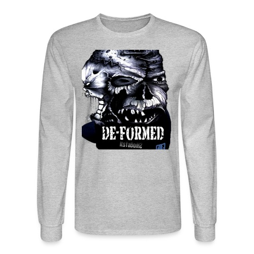 De-Formed Cover Art - Men's Long Sleeve T-Shirt