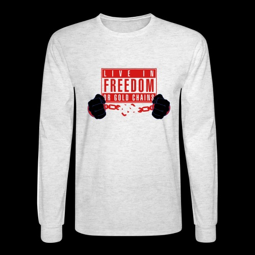 Live Free - Men's Long Sleeve T-Shirt
