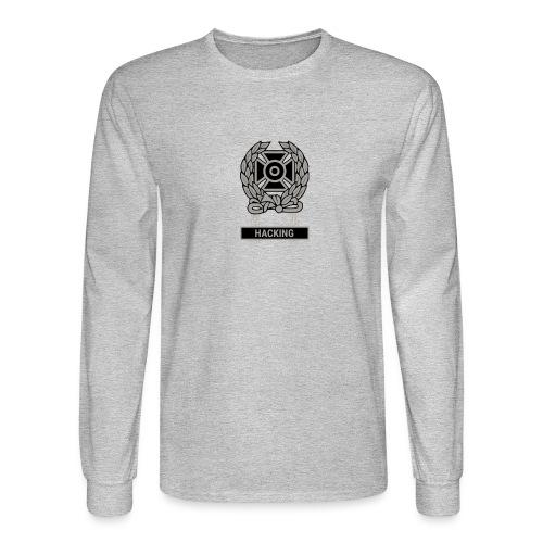 Expert Hacker Qualification Badge - Men's Long Sleeve T-Shirt