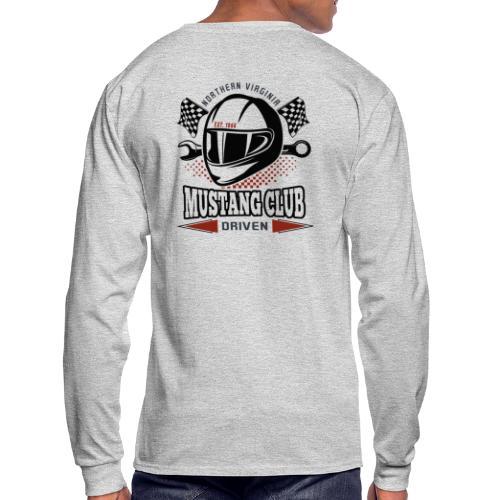 Race Helmet logo t-shirt - Men's Long Sleeve T-Shirt