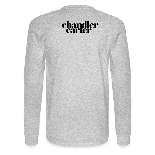 Chandler Carter Logo - Black - Men's Long Sleeve T-Shirt
