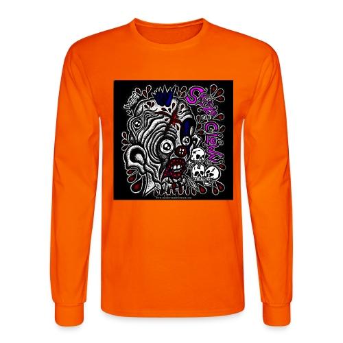 Skitzo The Clown - Men's Long Sleeve T-Shirt