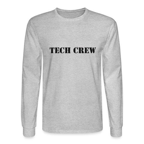 Tech Crew - Men's Long Sleeve T-Shirt