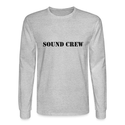 Sound Crew - Men's Long Sleeve T-Shirt