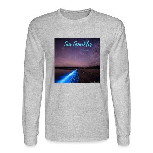 Tasmanian Sea Sparkles - Men's Long Sleeve T-Shirt