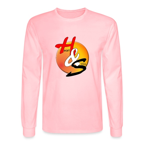 Rcahas logo gold - Men's Long Sleeve T-Shirt