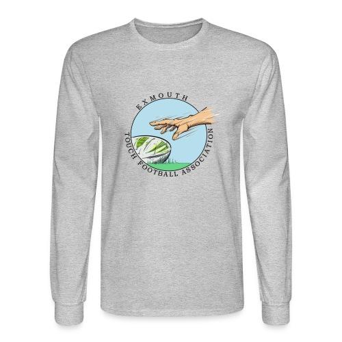 Exmouth Touch Logo - Men's Long Sleeve T-Shirt