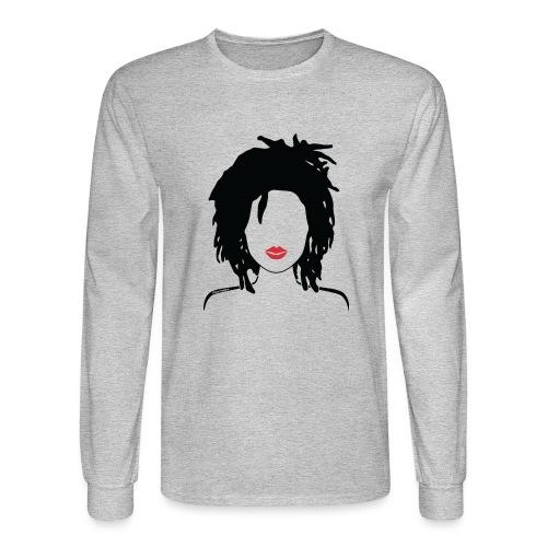 Locs & Lipstick_Global Couture Women's T-Shirts - Men's Long Sleeve T-Shirt