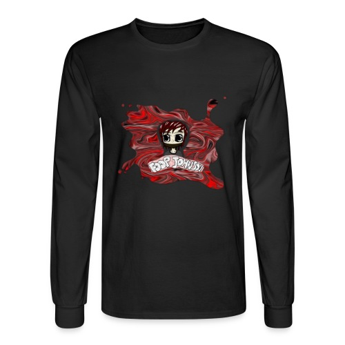 bigg 000000 png - Men's Long Sleeve T-Shirt