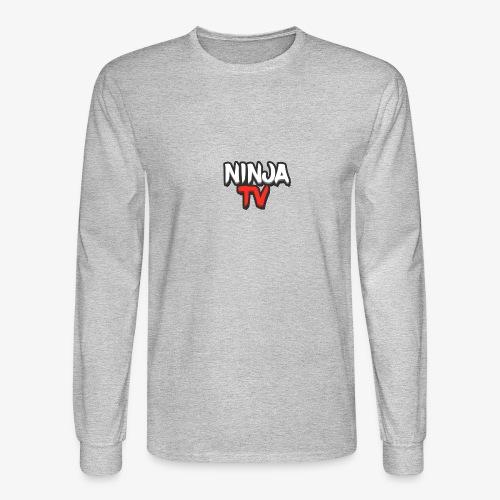 NINJA TV - Men's Long Sleeve T-Shirt
