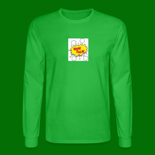 Sick Talk - Men's Long Sleeve T-Shirt