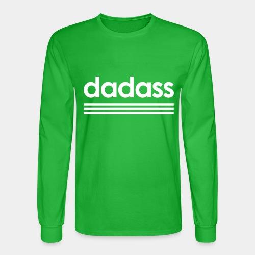 dad dadass badass - Men's Long Sleeve T-Shirt
