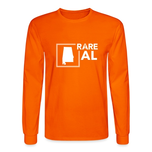State Ambassador Logos WHITE AL - Men's Long Sleeve T-Shirt