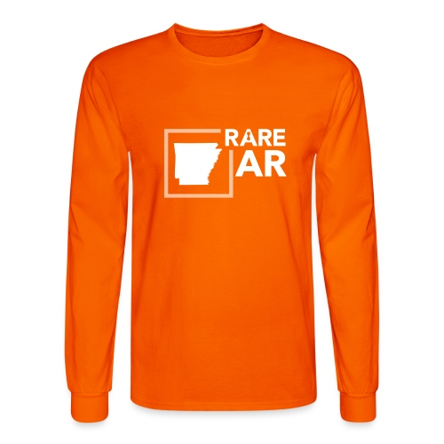 State Ambassador Logos WHITE AR - Men's Long Sleeve T-Shirt
