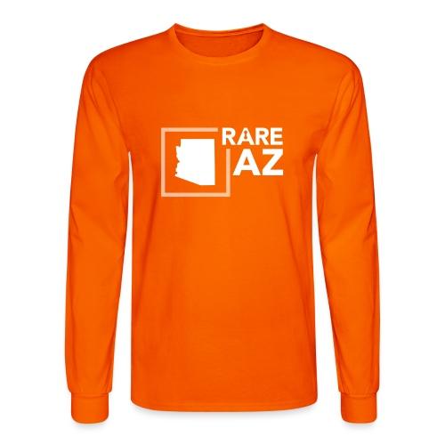 State Ambassador Logos WHITE AZ - Men's Long Sleeve T-Shirt