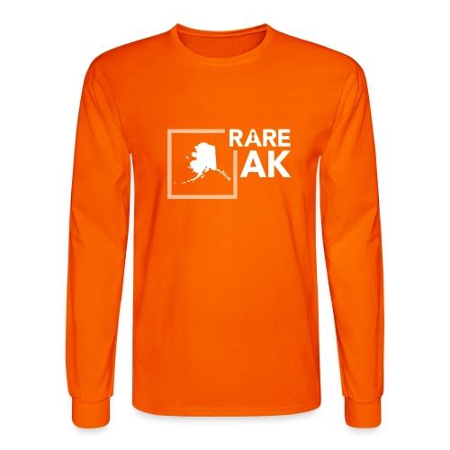 State Ambassador Logos WHITE AK - Men's Long Sleeve T-Shirt