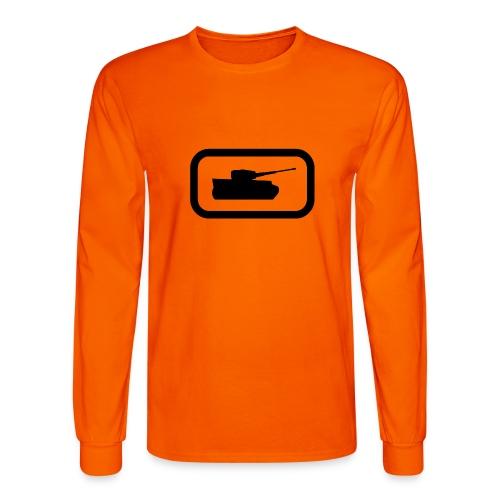 Tank Logo (Black) - Axis & Allies - Men's Long Sleeve T-Shirt