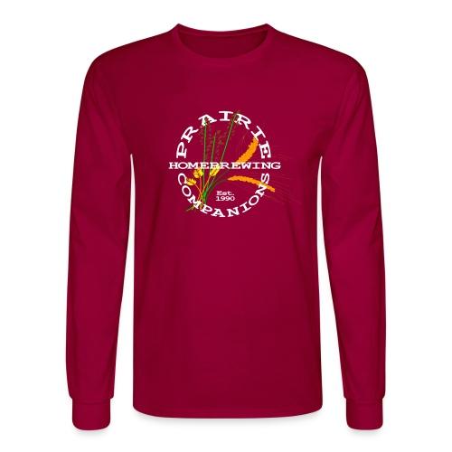 PHC Logo (white) - Men's Long Sleeve T-Shirt