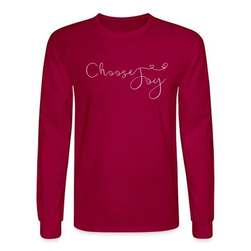 Choose Joy - Men's Long Sleeve T-Shirt