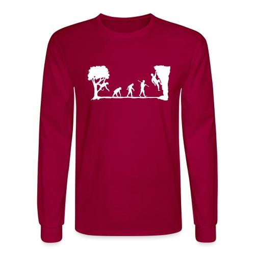 Apes Climb - Men's Long Sleeve T-Shirt