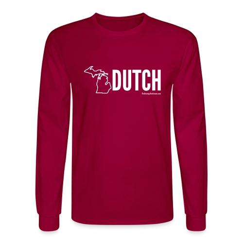 Michigan Dutch (white) - Men's Long Sleeve T-Shirt