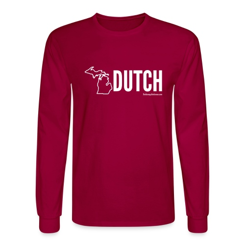 Michigan Dutch (white) - Men's Long Sleeve T-Shirt