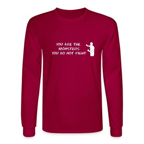 Fight Monsters - Men's Long Sleeve T-Shirt