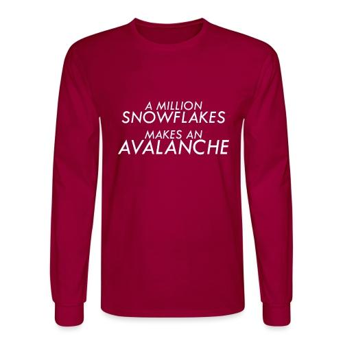 Liberal Snowflakes - Men's Long Sleeve T-Shirt